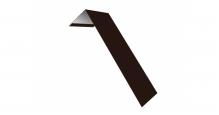 Металлические доборные элементы для фасада в Волгограде Планка лобовая/околооконная простая 190х50